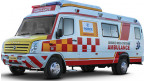Force Traveller Multi Stretcher Ambulance