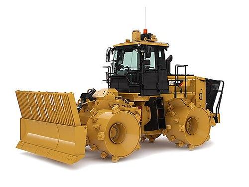 CAT 816K Landfill Compactor, 284 hp