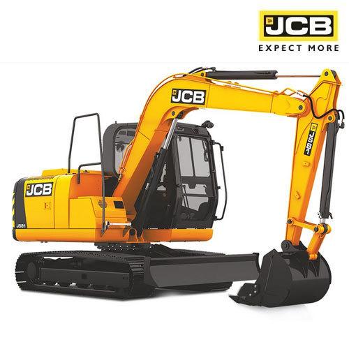 JS81 Tracked Excavator