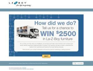 LA-Z-BOY Customer Satisfaction Survey