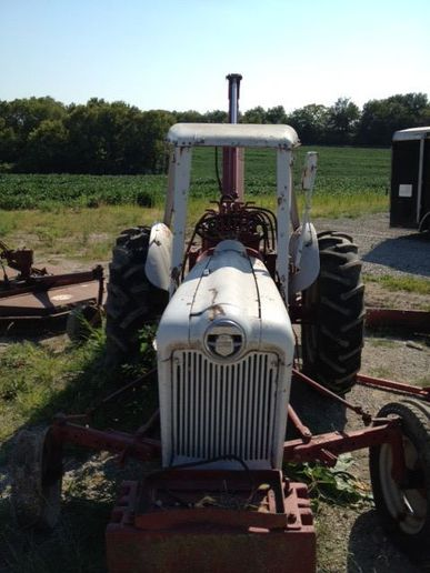 Ford 3000 Tractor For Sale On Craigslist : tractor, craigslist, Sherman, Backhoe, Yesterday's, Tractors