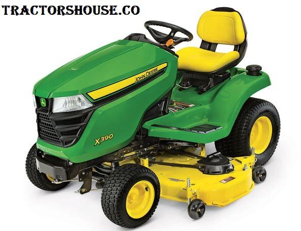 john deere x390 lawn tractor