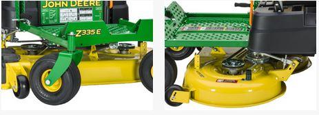 john Deere Z335E ZTrak Mower deck