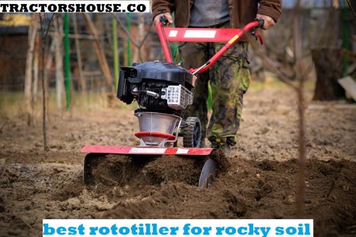 best rototiller for rocky soil