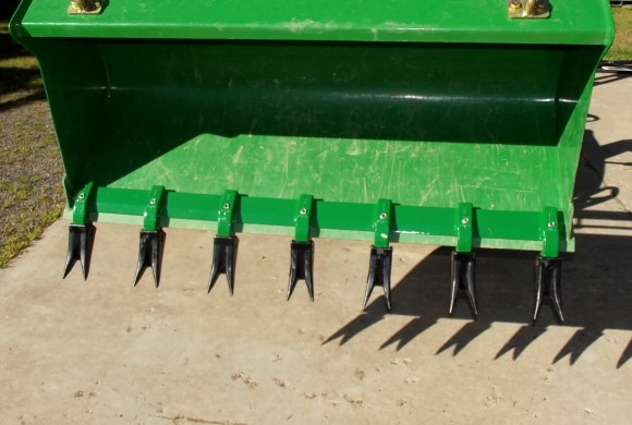 Heavy Hitch Toothbar - tractor steroids