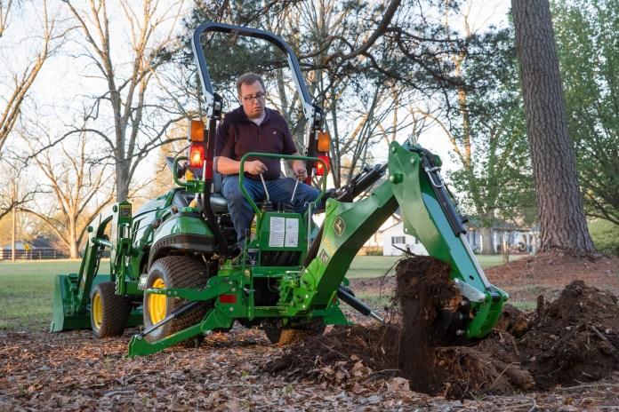 John Deere 260B Backhoe for 1-Series Tractors