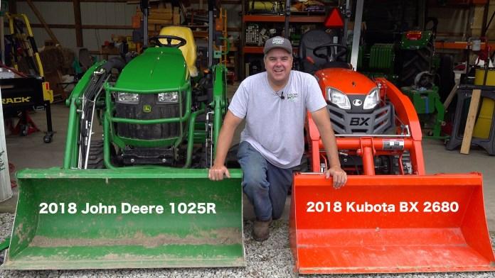 Kubota BX vs. Deere 1025R