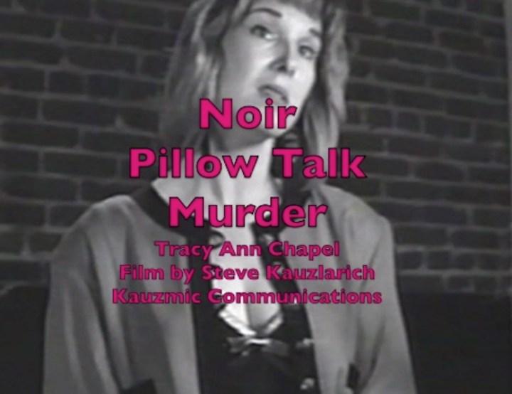 Large Official Poster Noir Pillow Talk Murder