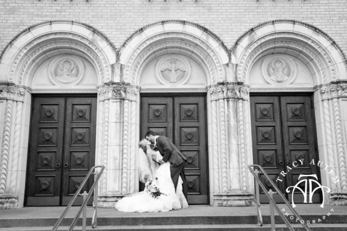 Amy Amp Bryce Wedding Portraits At Holy Trinity Catholic