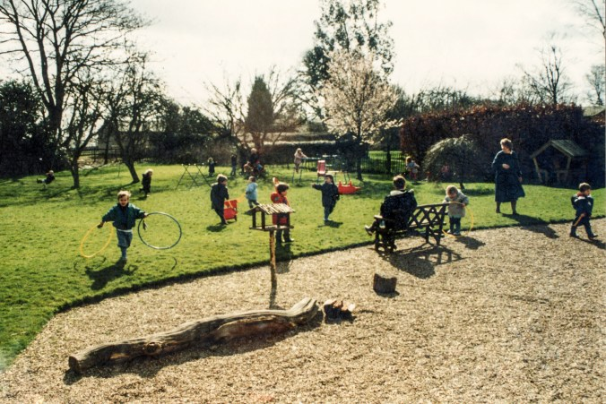 Montessori outdoor play