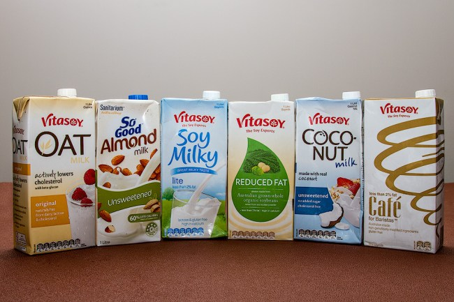 dairy free milk options