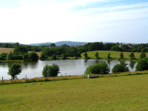 It's hard to believe that Cwm Hedd's lakes are a recent addition to the landscape