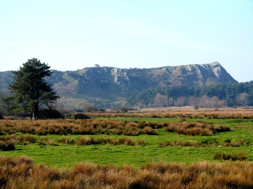 The scenery changes frequently on the Gower peninsula