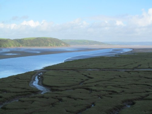 Carmarthenshire's estuaries add many inland miles for Wales Coast Path walkers