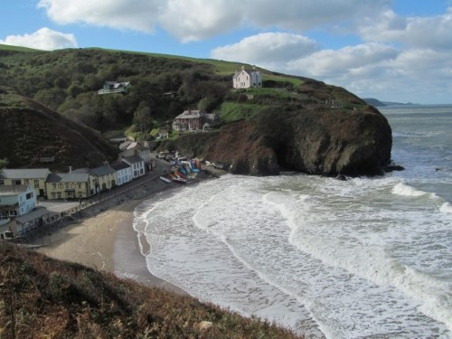Llangrannog, just one of Ceredigion's picturesque coastal towns