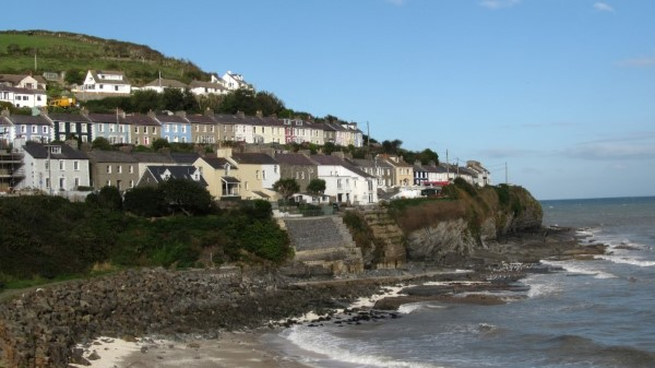 New Quay is famous for its Dylan Thomas connections