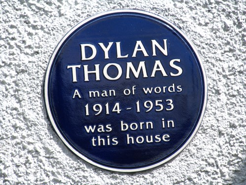 Perhaps one day another blue plaque will adorn the house