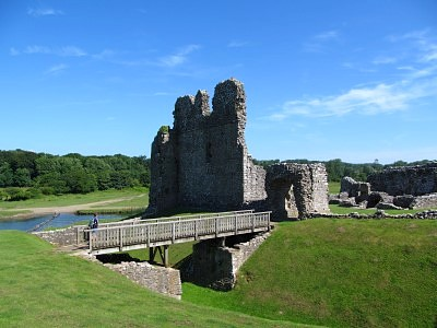 There are numerous castles along the Wales Coast Path