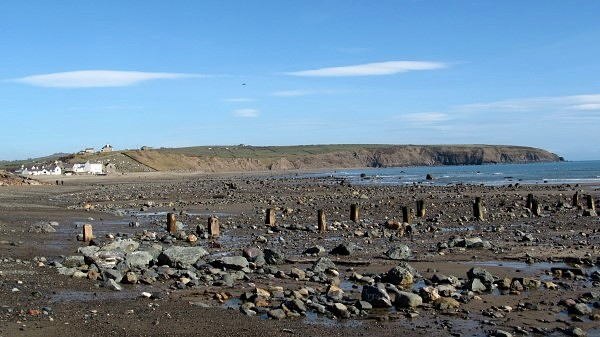 Aberdaron at low tide
