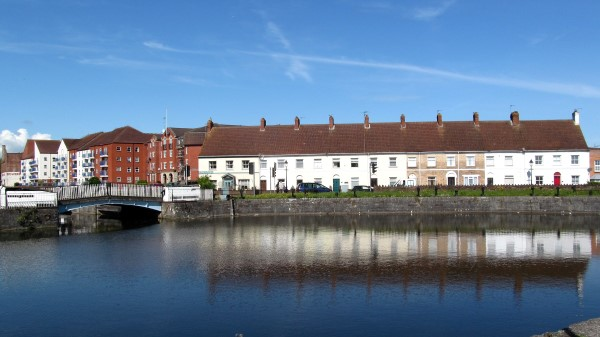 Bridgwater in the morning sunshine