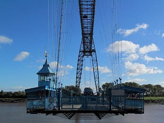 Newport's iconic Transporter Bridge