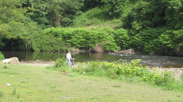 The Ebbw is accessible at Tredegar Park