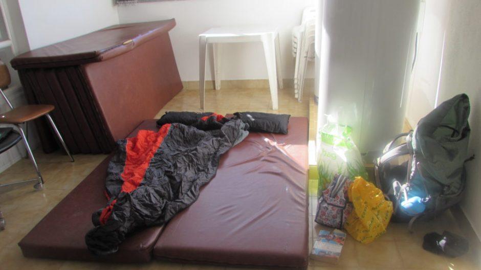 Our landing bedroom in Marmelete