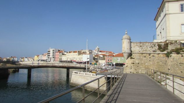 Peniche harbour, Silver Coast, Portugal