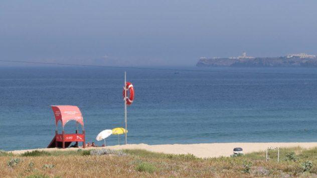 Praia de Areia Branca. Silver Coast, Portugal