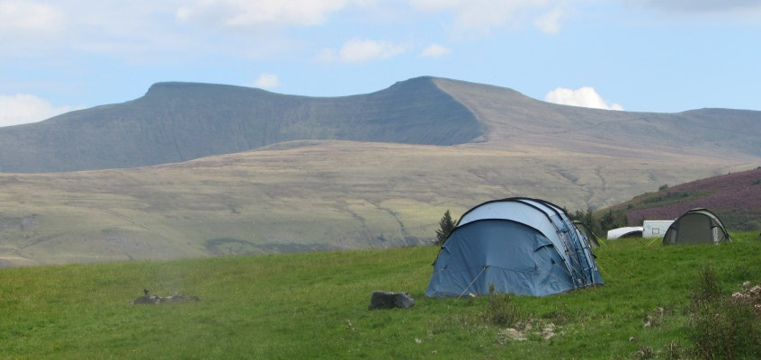 Brecon Beacons: two summits from the National Park Visitor Centre