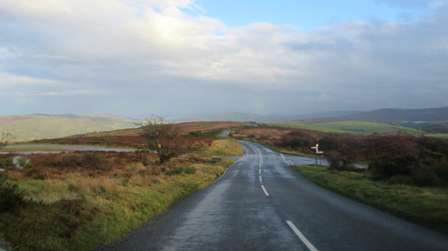 A39 near Whitstone Post, Exmoor National Park