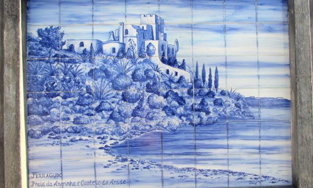 Azulejo panel, Ferragudo, Algarve