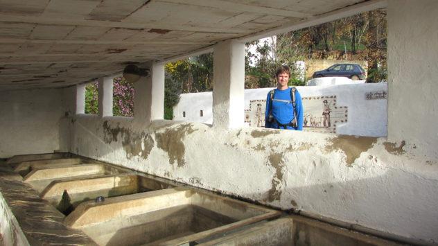 Community washroom, Barão de São João, Lagos, Algarve