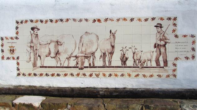 Tiled plaque, Barão de São João, Lagos, Algarve