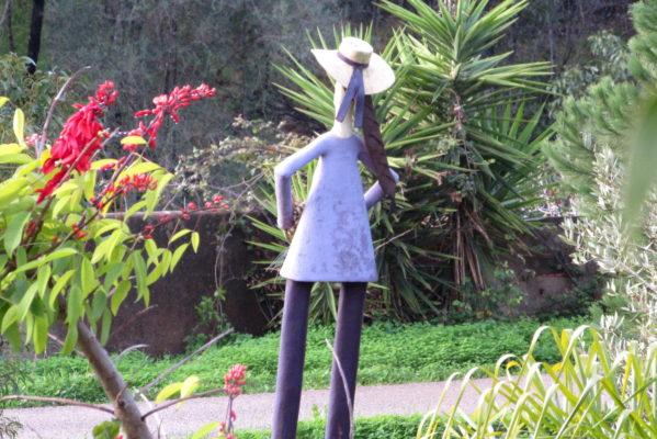 Sculpture by Deodato Inácio Santos, Barão de São João, Lagos, Algarve