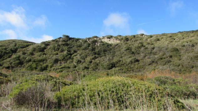 The ravine leading to Praia do Barranco, Raposeira, Western Algarve