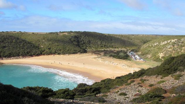 Praia do Barranco, Raposeira, Western Algarve