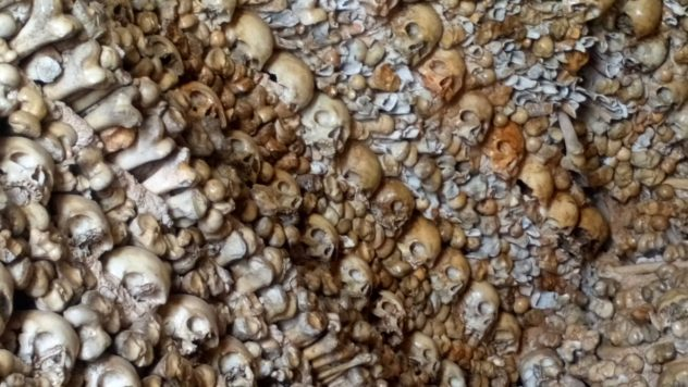 Chapel of bones, Alcantarilha, Algarve, Portugal