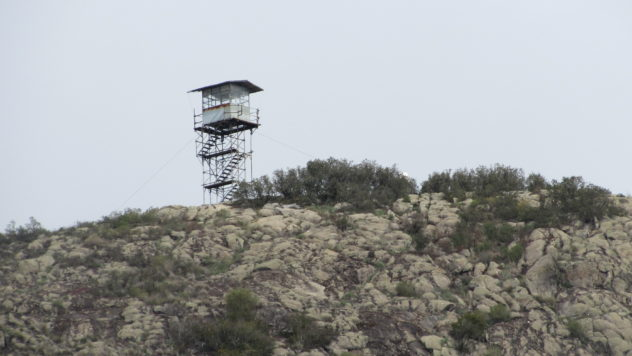 Lookout post, Picota, Serra de Monchique, Algarve
