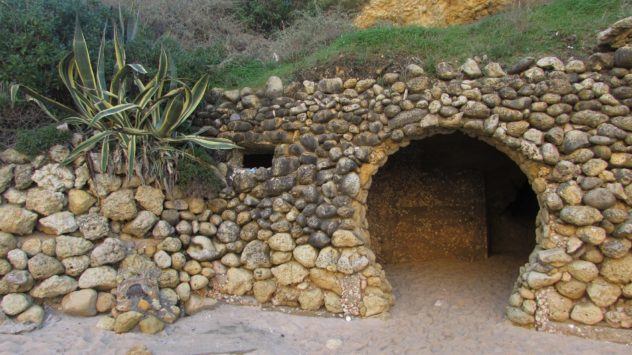 Grotto at Praia da Marinha