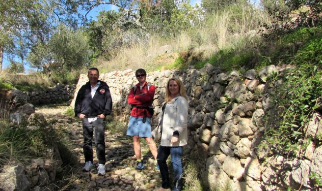 Via Algarviana link route, near Querença, Algarve