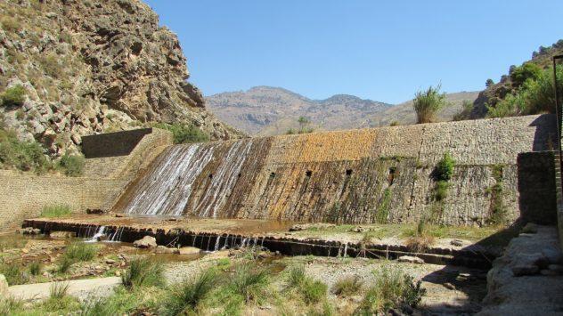 Guadalfeo dam, Orgiva, Alpujarras,