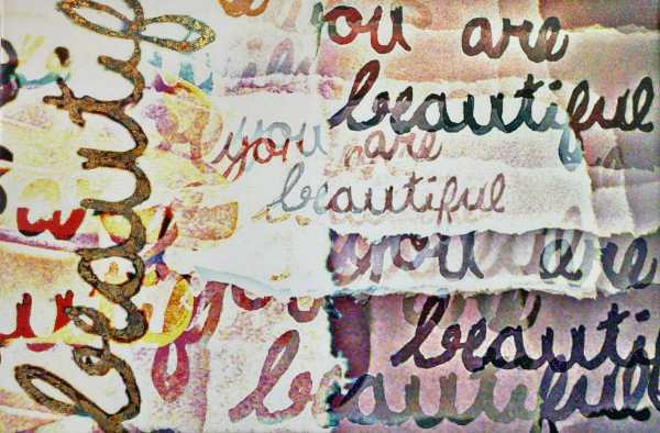You Are Beautiful scaled Tracy Casagrande Clancy Encaustic Mixed Media