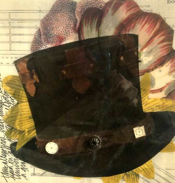 Hats Off To You scaled Tracy Casagrande Clancy Encaustic Mixed Media