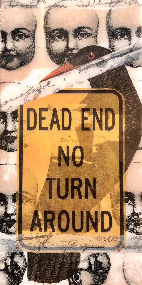 No Exit scaled Tracy Casagrande Clancy Encaustic Mixed Media