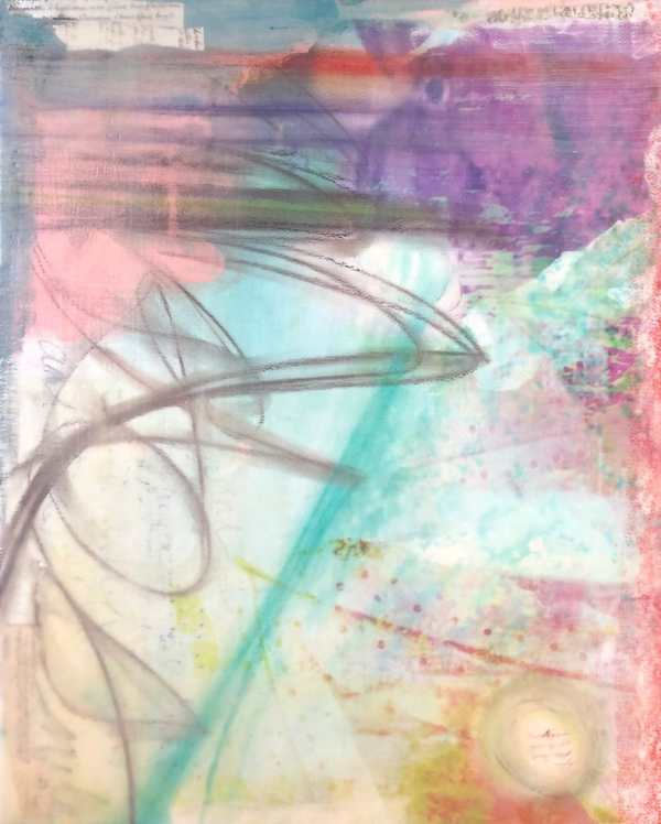 Refuge 2 scaled Tracy Casagrande Clancy Encaustic Mixed Media