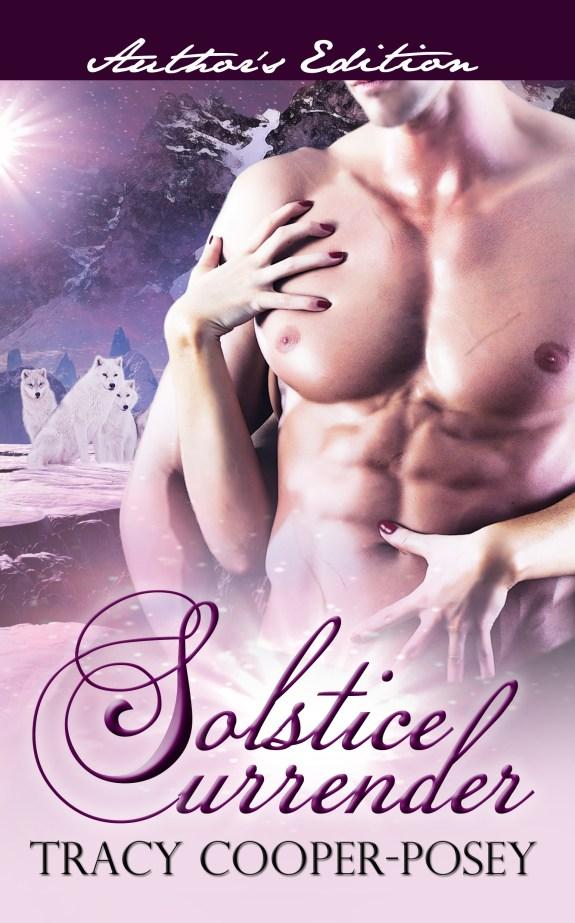 Solstice Surrender, Tracy Cooper-Posey, Paranormal romance, adult paranormal romance, erotic romance, erotica, Canadian Rockies, winter solstice, solstice, MF romance,