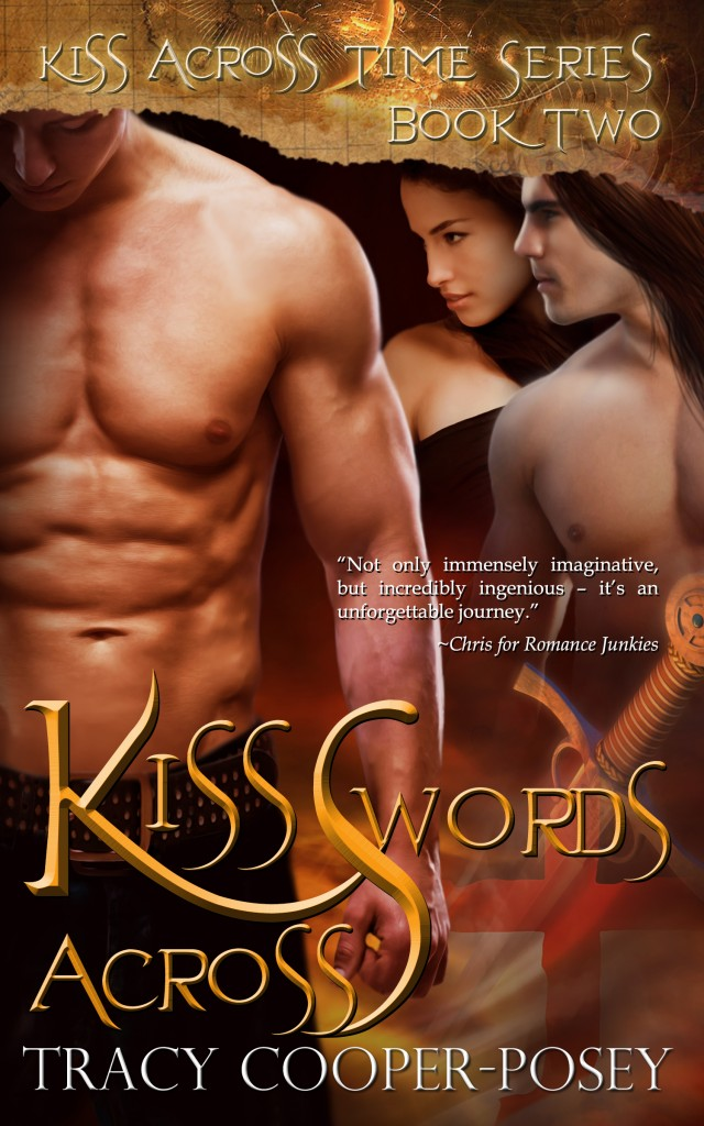 Kiss Across Swords by Tracy Cooper-Posey