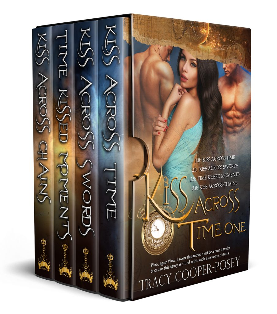 Kiss Across Time Box One Cover