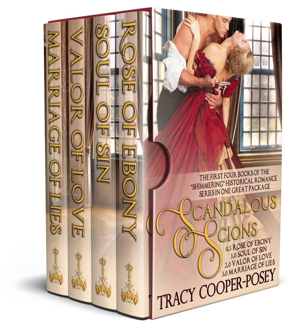 Scandalous Scions One Cover